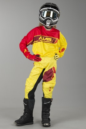 Alias Youth A2 Sidestacked Kit Yellow-Red