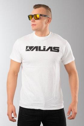 Alias Blocked T-Shirt White