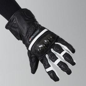 IXS Novara EVO Gloves Black-White