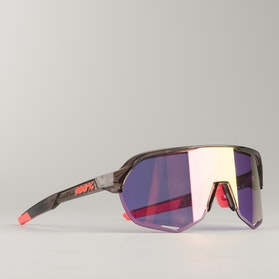 S2 Polished Translucent Crystal Smoke w/ Purple Multilayer Mirror Lens