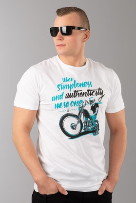 Ride&Sons Authenticity T-Shirt White