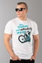 T-Shirt Ride&Sons Authenticity Biały