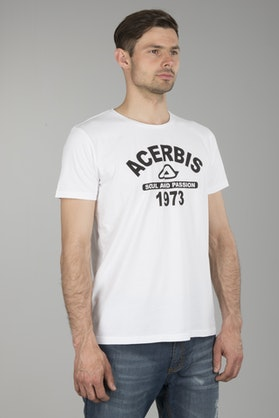Acerbis Race College T-Shirt White