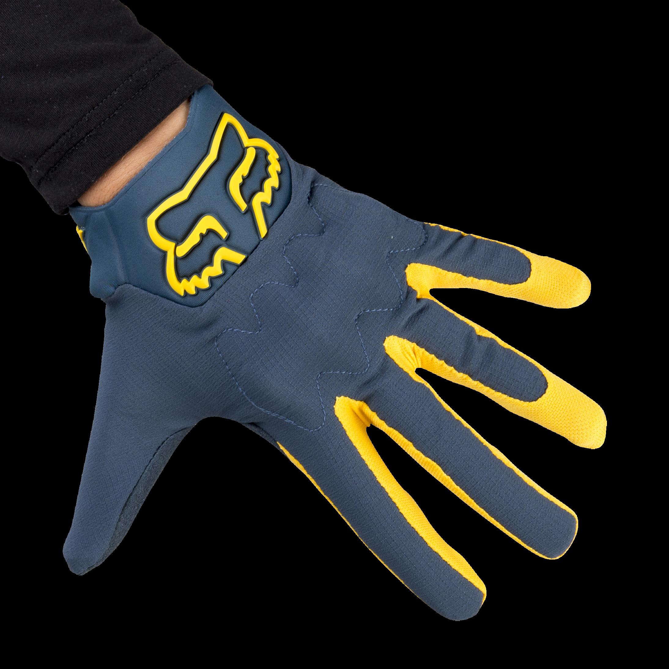 Fox Bomber Lt Glove L blue steel