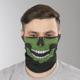 Ocieplacz na Szyję Course Green Skull