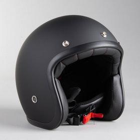 RXA Classic A-611C Open Helmet Matte Black