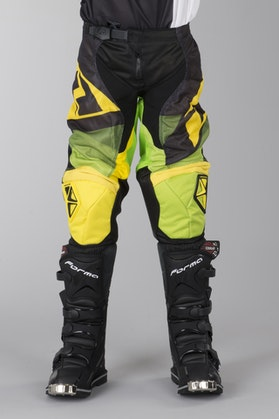 One Industries Atom Vented Youth Motocross Trousers - Green