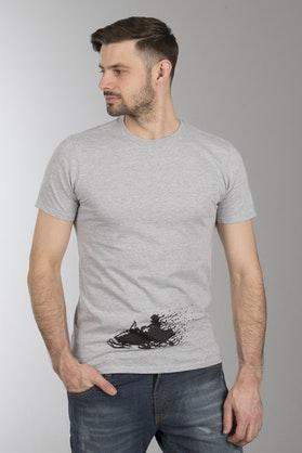 Koszulka Sledstore Sled Pixel Szara