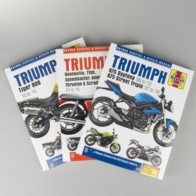 Książka serwisowa Haynes Triumph Szukaj według modelu