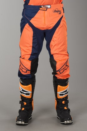 AXO Motion 4 MX Trousers Blue & Orange