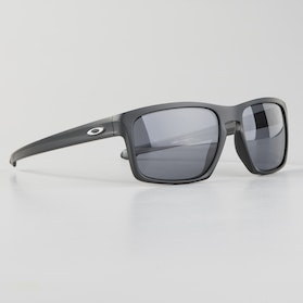 Oakley Silver Sunglasses Matte Black