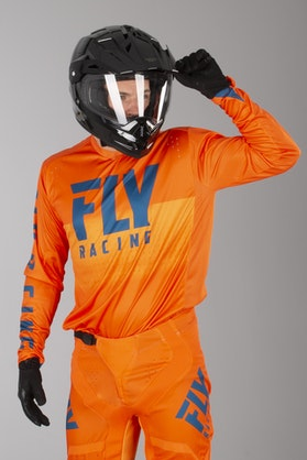 Bluza Cross FLY Light Pomarańczowo-Marynarska