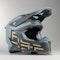 Kask Cross Acerbis X-Racer VRT Szaro-Złoty