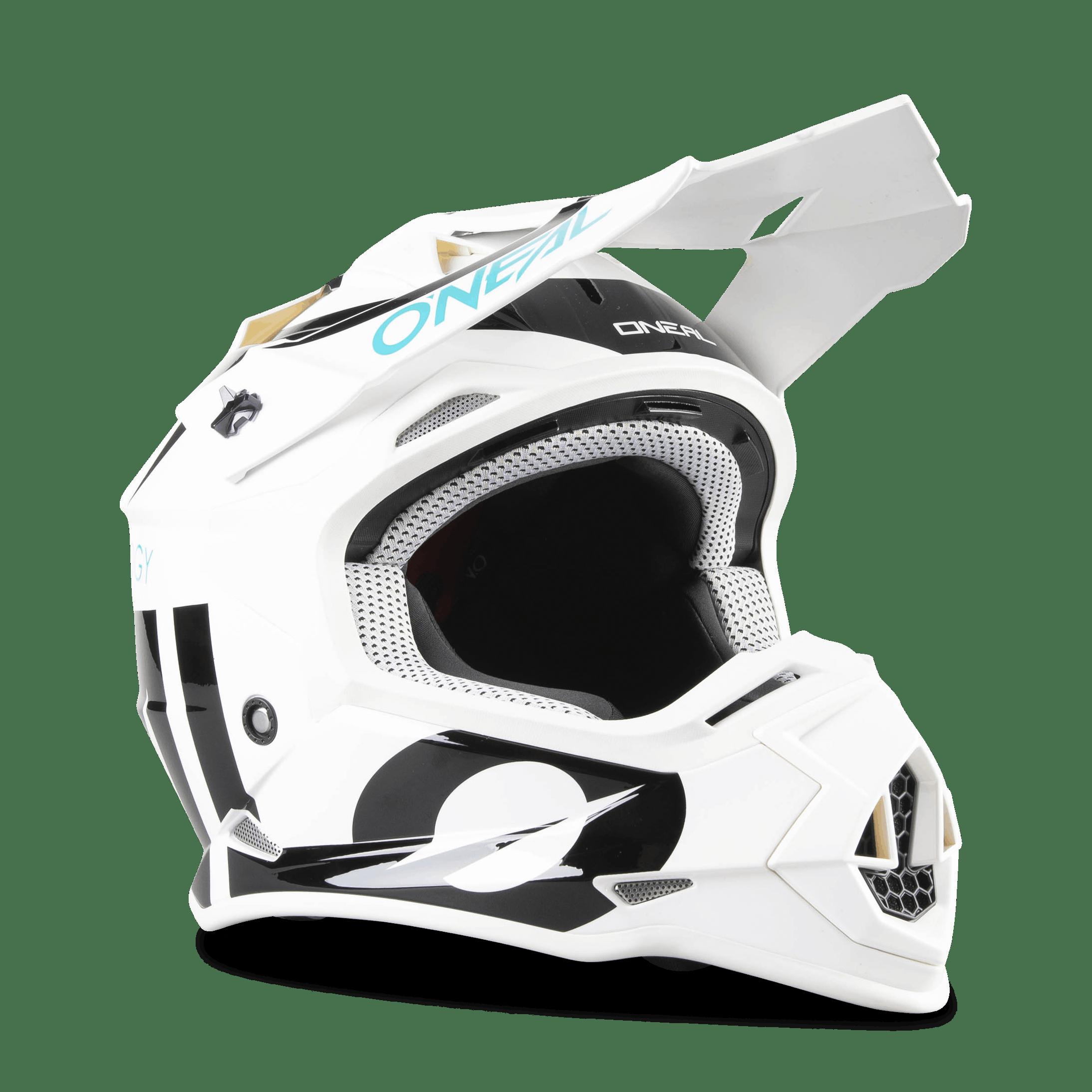 ONeal 2 Series RL Slick Motocross Helmet Yellow MX Enduro Off Road ...