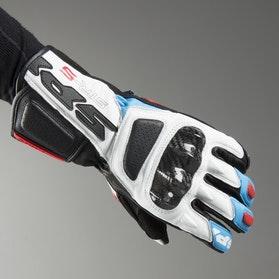Rękawice Spidi STR-5 Czerwony-JasnyNiebieski