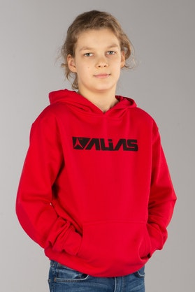 Alias Blocked Hoodie Red
