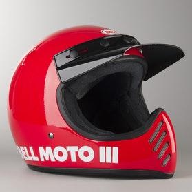 Kask Bell Moto-3 Classic Czerwony Rozmiar XL