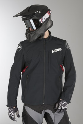 Alpinestars Session Race Enduro Jacket Black-Red