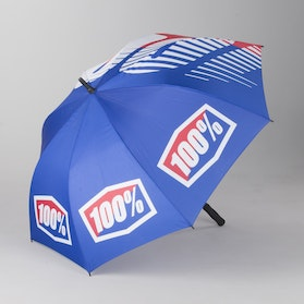 100% Umbrella Blue-Red