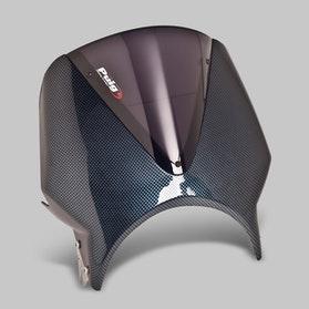 Owiewka Puig Vision Honda Windscreen Karbon Ciemna Przydymiona