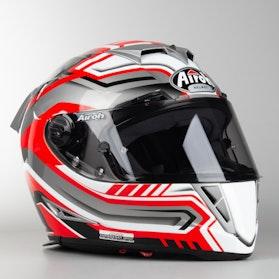 Airoh GP 500 Rival Hemet Red Shine