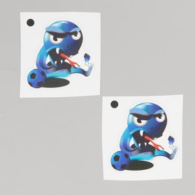 OneDesign Decals Football Snake