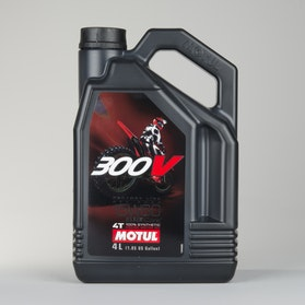 Motul 300V Offroad 4T 4L Oil Fully synthetic