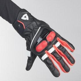 Rękawice Revit Hyperion Czarno-Neonowo-Czerwone