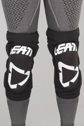 Leatt 3DF 5.0 Knee Protection White-Black