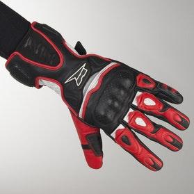 Rękawice AXO Fight Czarno-Czerwone
