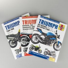 Książka serwisowa Haynes Triumph