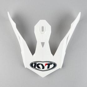 Kšilt Helmy KYT Skyhawk Plain Bílý