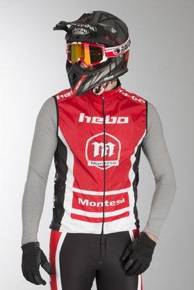 Bezrękawnik Hebo Montesa Team III Czerwony