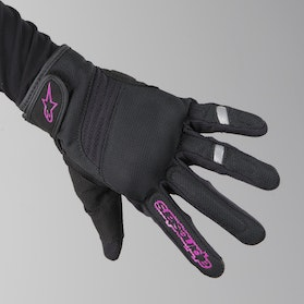 Alpinestars Asama Air Gloves Black-Rose Violet