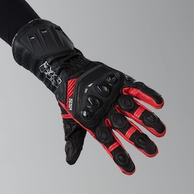 IXS RS-200 Gloves Black-Red