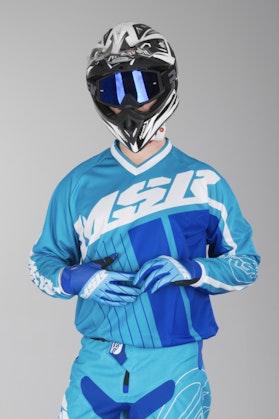 Bluza Cross MSR M17 Axxis Niebiesko-Biało-Roayl