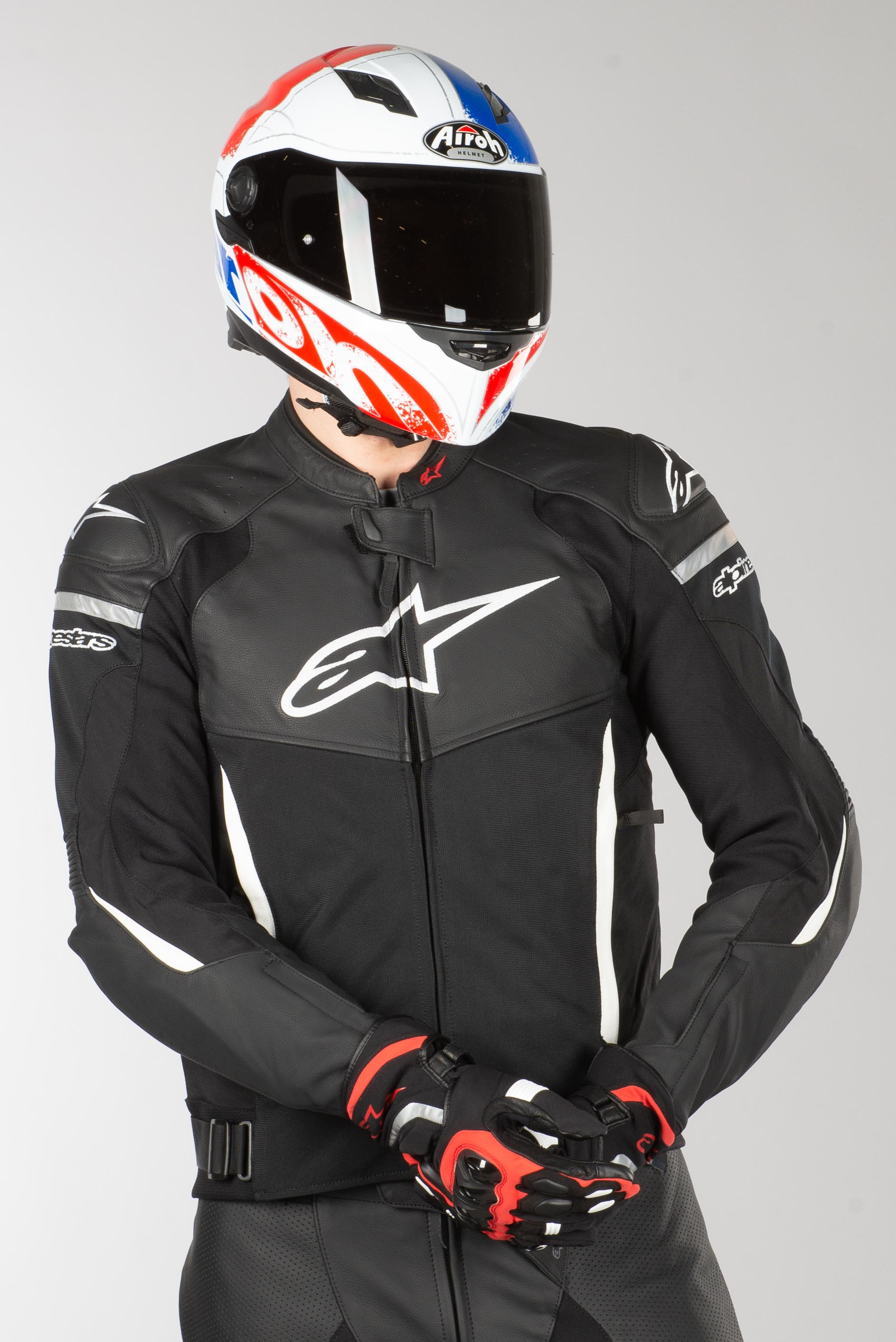 Jakke Alpinestars SP X Air, SortHvid