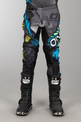 O'Neal Element Villain Kid's MX Pants Grey