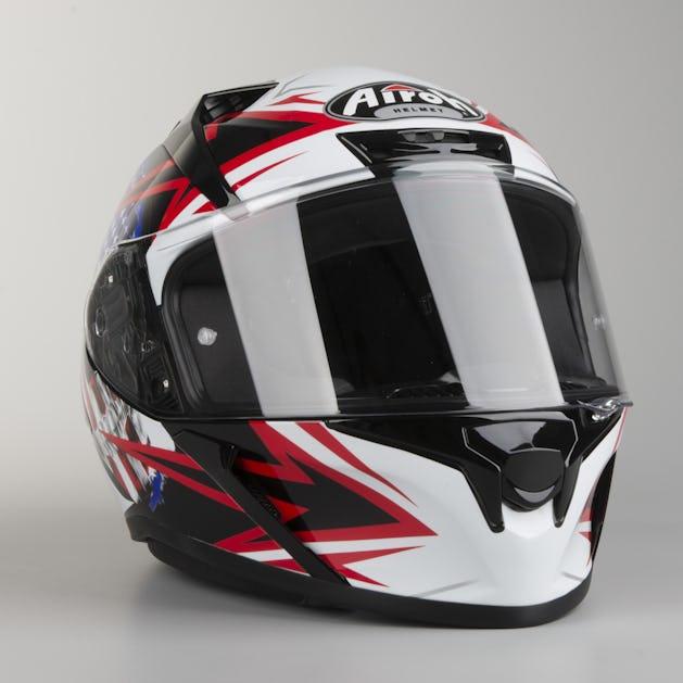 ceb2b75f2c63d Airoh Valor Sam Helmet Black - Lowest Price Guarantee - XLmoto.ie