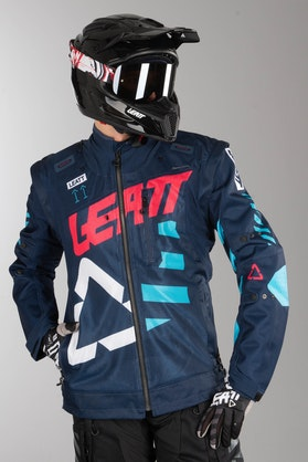 Leatt GPX 4.5 X-Flow Enduro Jacket Ink-Blue