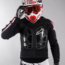 Alpinestars Bionic Pro Protective Jacket Black-Red-White