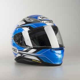 Kask Cross Shoei NXR Rumpus TC-2 Niebieski