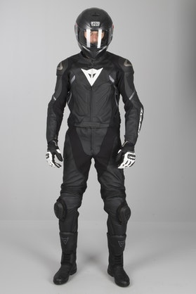 Dainese Avro D2 2-Piece Leathers Black-Grey