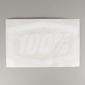 "100% Die-Cut Trailer Stickers 16"" White"