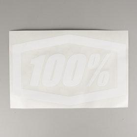 "Naklejki 100% Die-Cut Trailer 16"" Białe"