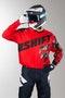 Bluza Cross Shift Faction Camo Czerwona MX 14
