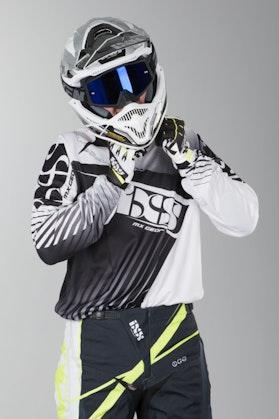 Bluza cross IXS Atmore Biały-Czarny