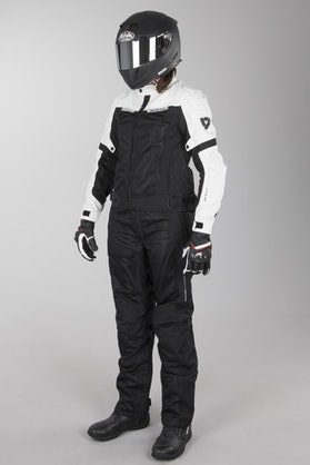 Odzież MC krótsze Noga Revit Airwave 2 Czarny-Biały Kobieta