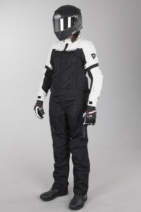 Revit Airwave 2 Ladies' Motorcycle Apparel Short Leg Black-White