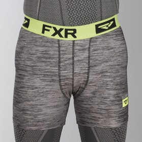 Funkční Boxerky FXR Helium X Tech Boxer Šedo-Neonově Žluté